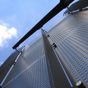 Perforated Panels Metal Cladding Architectural Facades