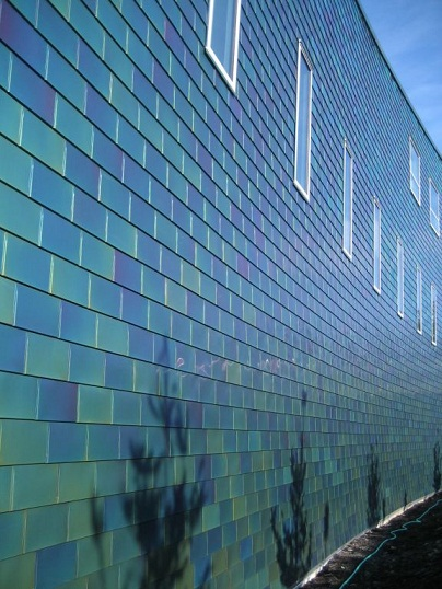Stainless Steel Cladding Millennium Tiles