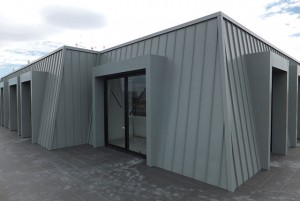 APS Rib Cladding by Architectural Panel Systems