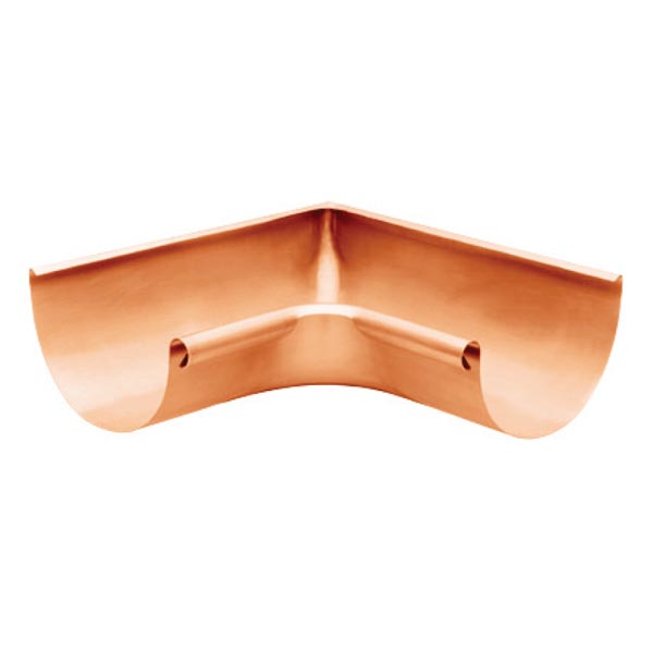 Half Round Corners - Internal Copper