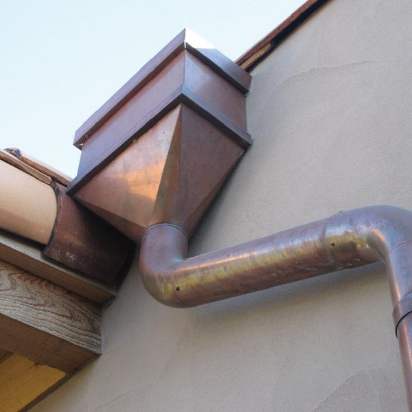 Architectural Rainwater Heads Custom Designed