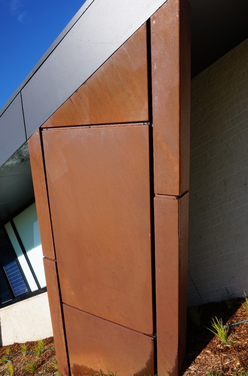 Corten Wall Panels 28 Images Aluminium And Corten A
