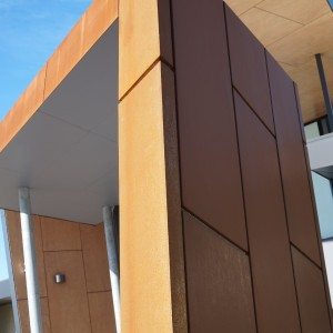 Corten Cladding Architectural Panel Systems