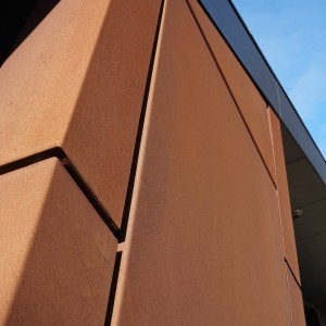 corten cladding architectural panel systems. Black Bedroom Furniture Sets. Home Design Ideas