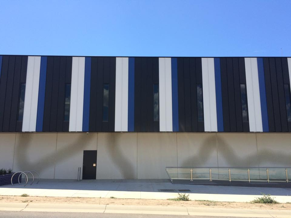 Waurn Ponds Police Amp Ses Building Architectural Panel