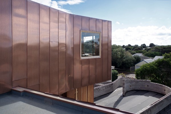 Copper Flat Lock Panel Cladding Architectural Panel Systems