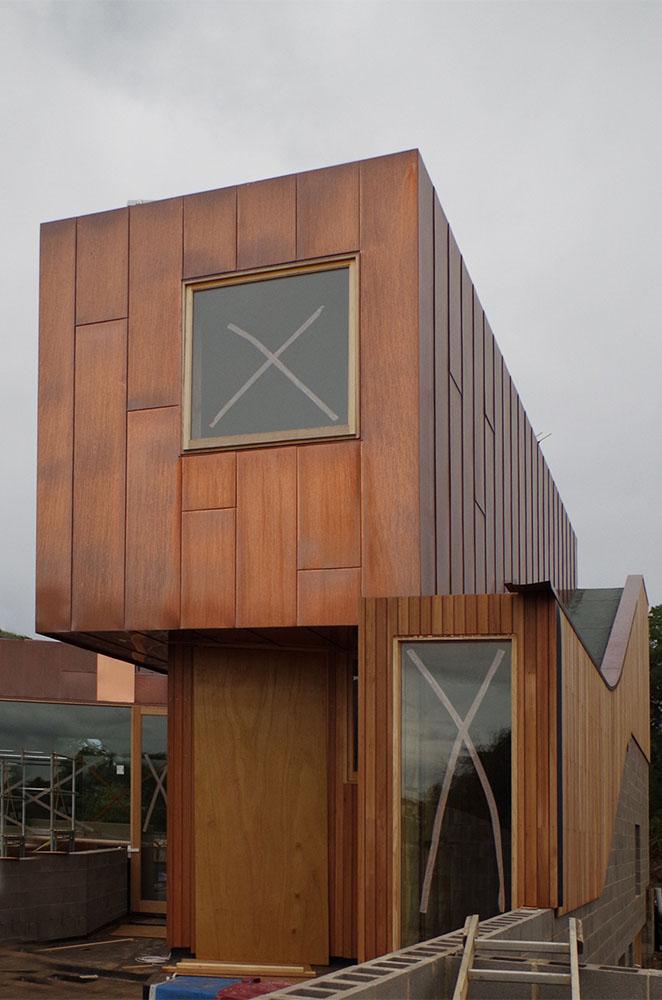Copper Flat Lock Panel Apollo Bay Architectural Panel