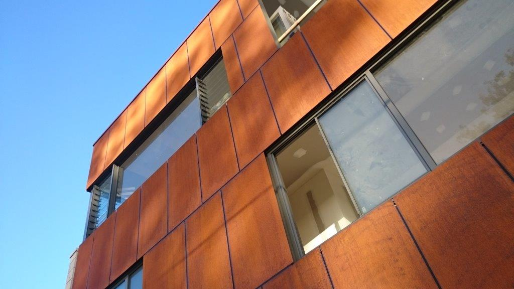 Corten Flat Sheet Architectural Cladding Architectural