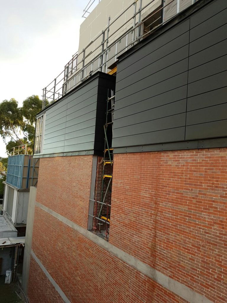 Architectural Aluminum Cladding Panels : Architectural cladding metal panel systems
